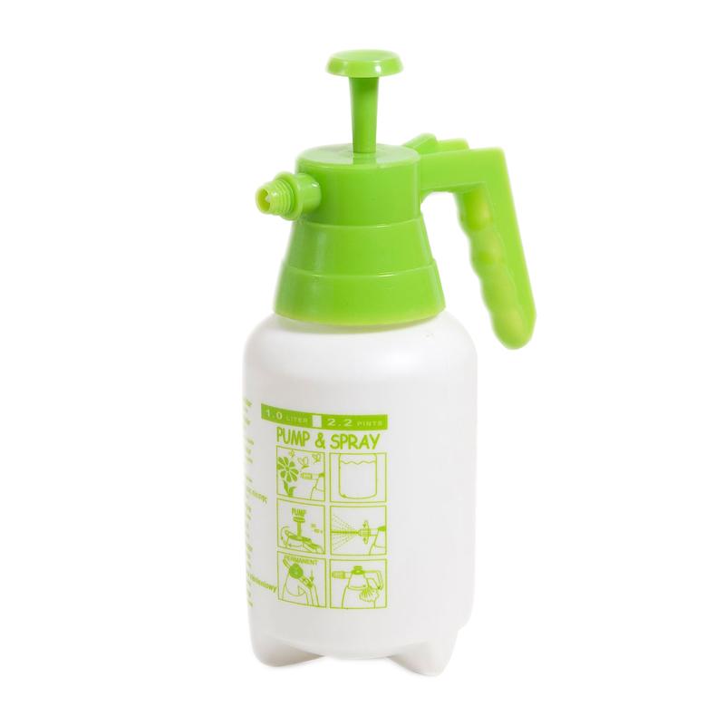 Pulverizator cu pompa de presiune, 1 l, Alb/Verde shopu.ro