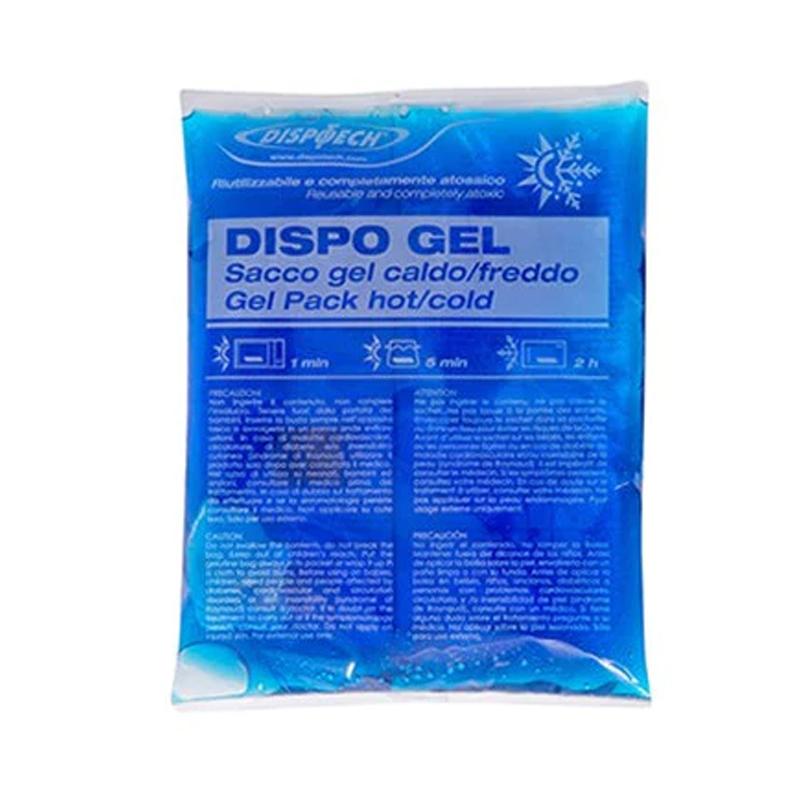 Punga gel tip compresa calda/rece Dispo Gel, 11 x 11 cm, reutilizabila, non-toxic 2021 shopu.ro