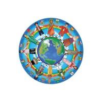 Puzzle copii in jurul lumii