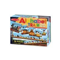 Puzzle de podea Trenul alfabet