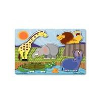 Puzzle lemn Zoo