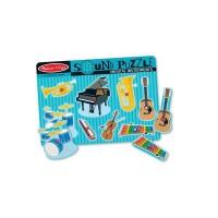 Puzzle sonor Instrumente muzicale Melissa & Doug, 2 x AA