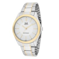 Ceas Q&Q Retro Silver & White, display analog