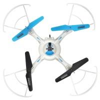 Quadcopter cu camera HC619, 100 m, Gri/Albastru