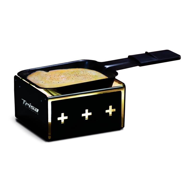 Racleta My Raclette Trisa, 1 persoana, Negru
