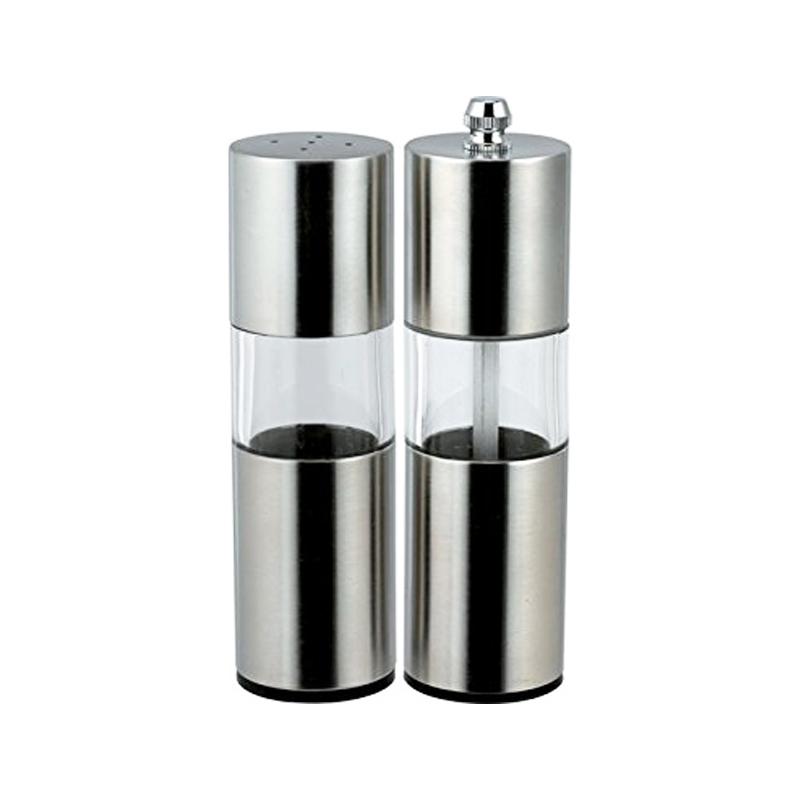 Set condimente Bohmann, 2 piese, inox/sticla 2021 shopu.ro