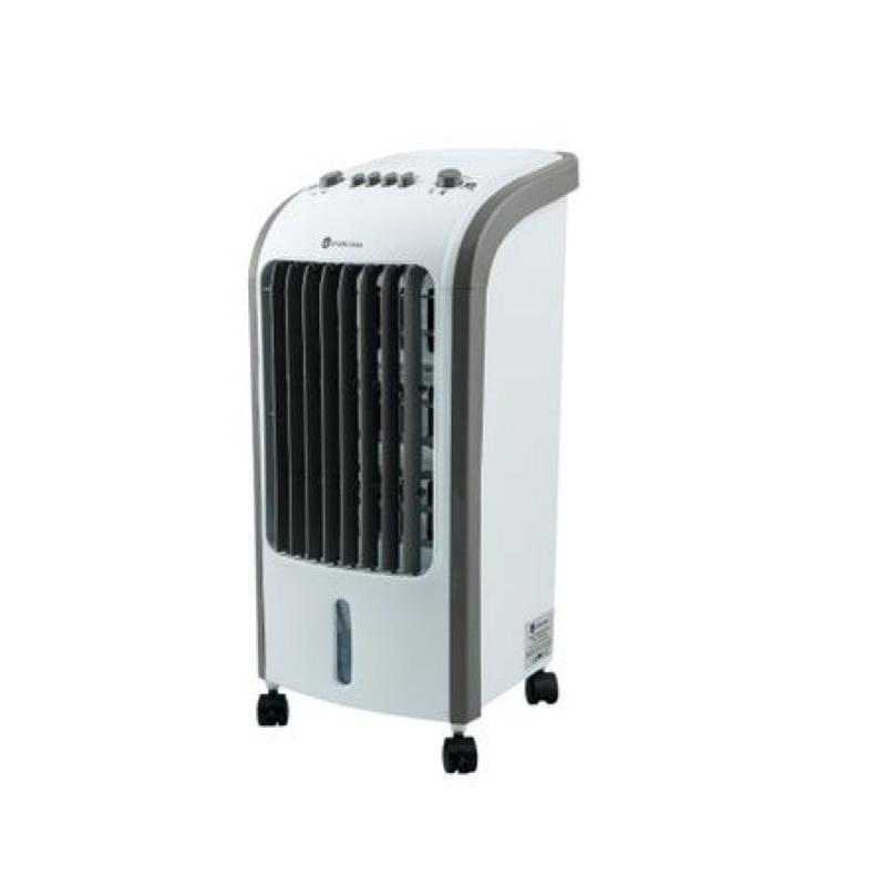 Racitor de aer portabil Cool Air Studio Casa, 80 W, 4 L, functie umidificare, 3 viteze, accesorii incluse, Alb 2021 shopu.ro