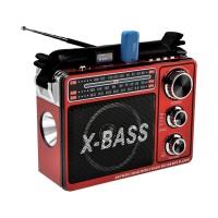 Radio FM/AM Waxiba XB-206URT, USB, lanterna LED, acumulator integrat