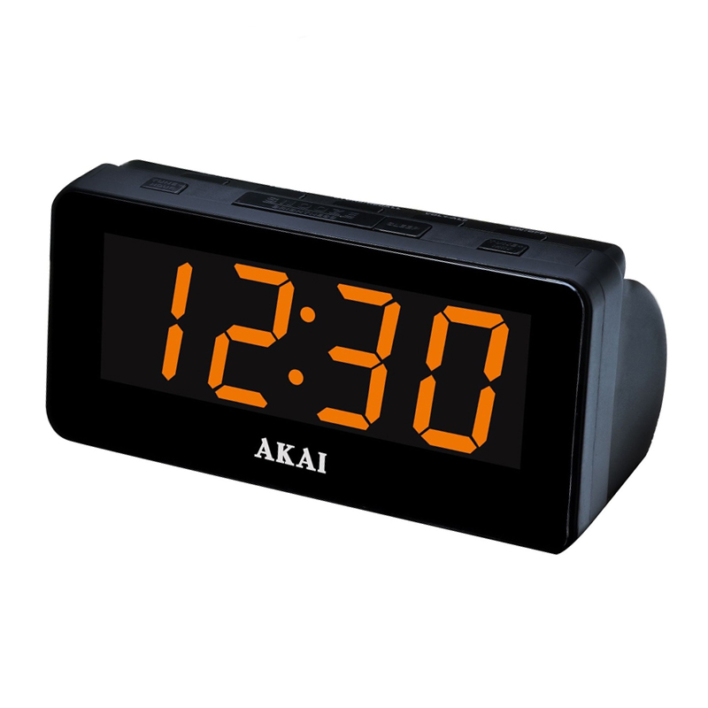 Radio FM/AM cu ceas Akai CE-1003, ecran LED, alarma duala, functie Sleep Timer/Snooze 2021 shopu.ro