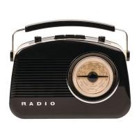 Radio Konig cu design retro, Bluetooth, alimentare 9 V