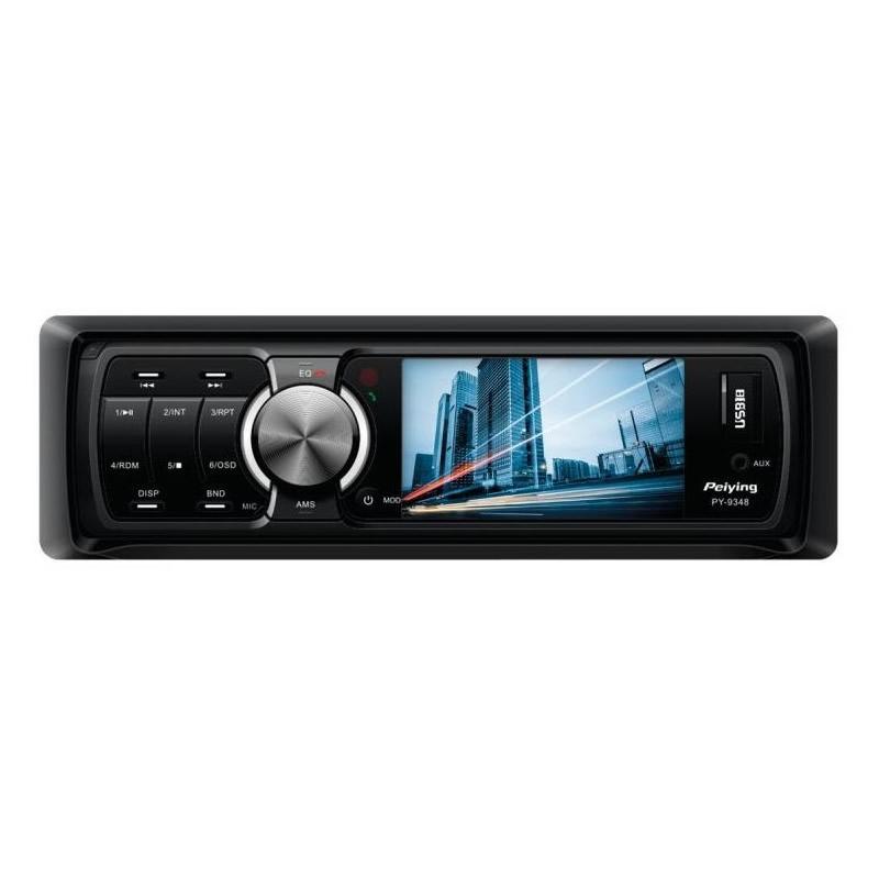 Radio MP3 Player Auto Peiying, 4 x 40W, ecran TFT 3 inch 2021 shopu.ro