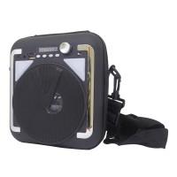 Radio MP3 portabil CH-M41, USB, card TF, Negru/Alb