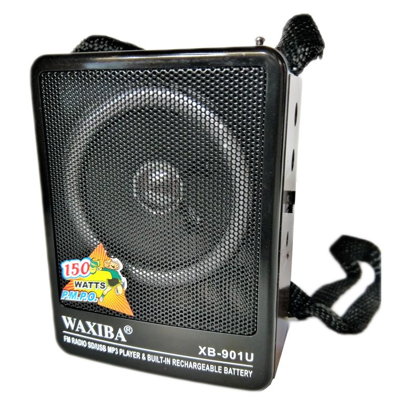 Radio MP3 portabil Waxiba XB-901U, mufa jack 2021 shopu.ro