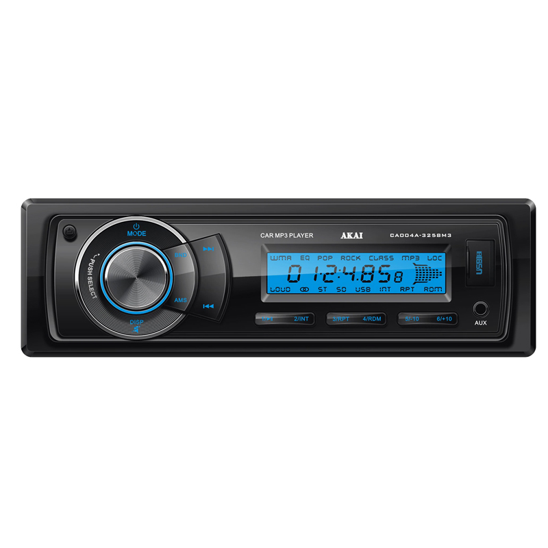 Radio auto Akai, 4 x 20 W, USB, AUX, ecran LCD, ceas 2021 shopu.ro