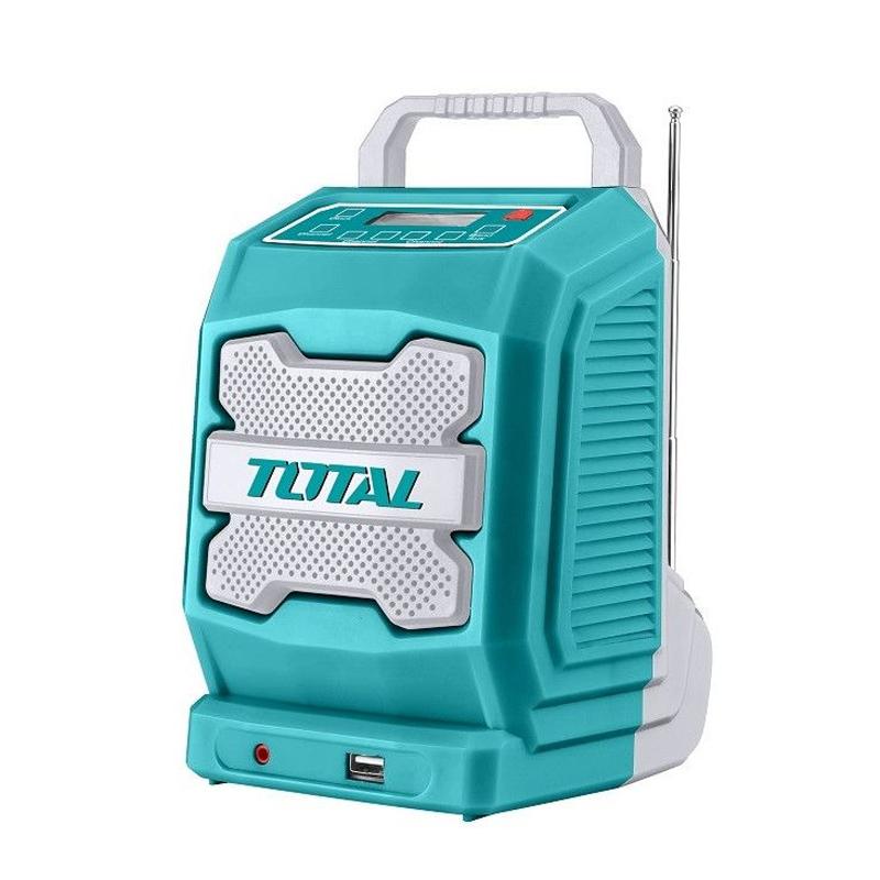 Radio portabil Total, acumulator Li-Ion, bluetooth 4.0, mufa jack 2021 shopu.ro
