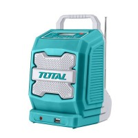 Radio portabil Total, acumulator Li-Ion, bluetooth 4.0, mufa jack