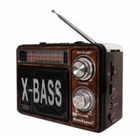 Radio portabil X-Bass KN-161URT, 3 benzi, Maro