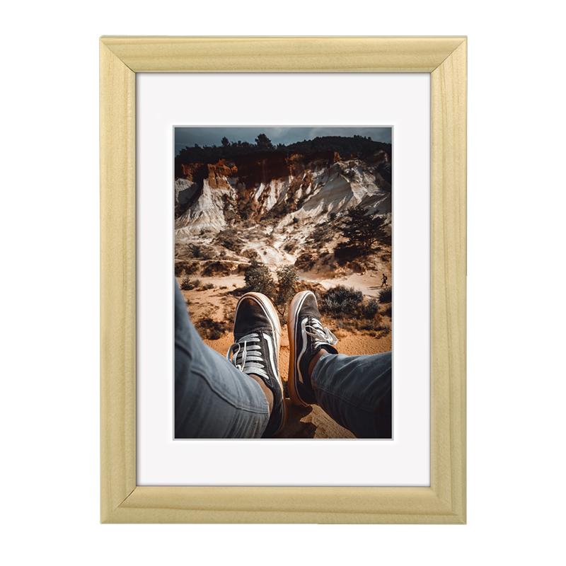 Rama foto Bella Hama, 13 x 18 cm, lemn, Bej 2021 shopu.ro