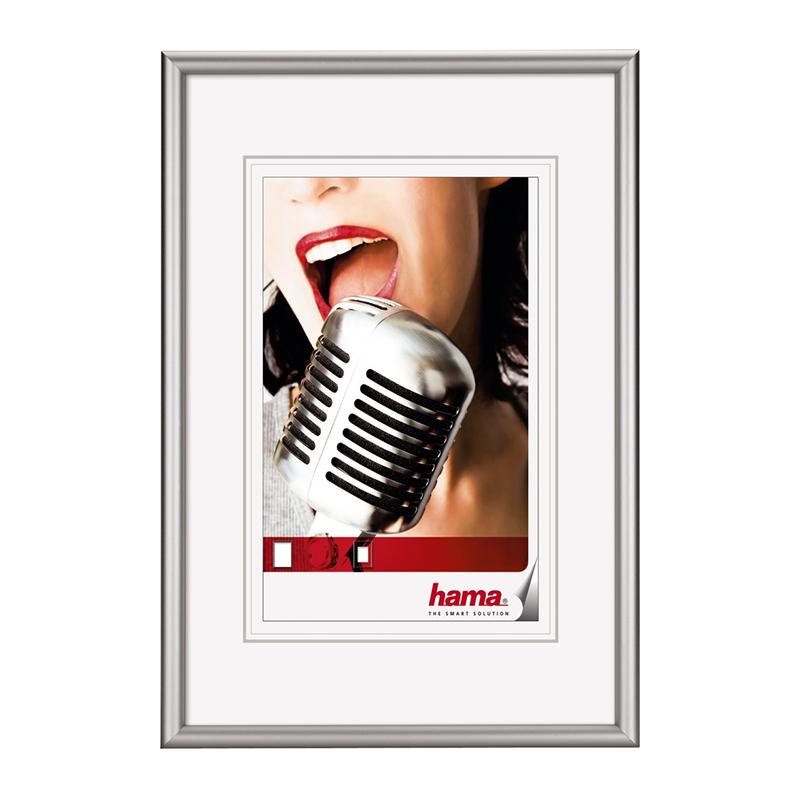 Rama foto Chicago Hama, 13 x 18 cm, aluminiu, Argintiu 2021 shopu.ro
