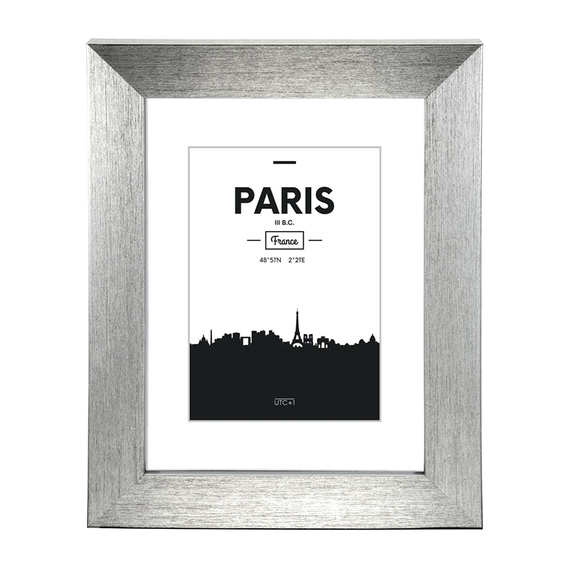 Rama foto Paris Hama, 10 x 15 cm, plastic, Argintiu 2021 shopu.ro