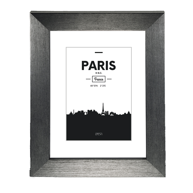 Rama foto Paris Hama, 13 x 18 cm, plastic, Gri 2021 shopu.ro