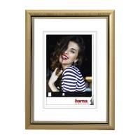 Rama foto Saragossa Hama, 13 x 18 cm, plastic, Auriu