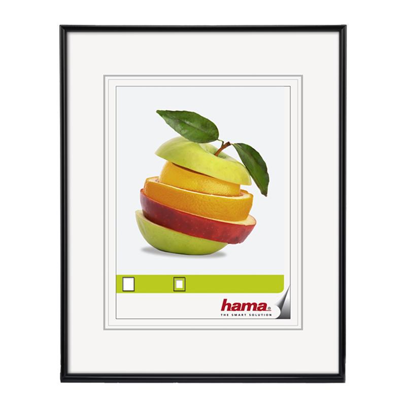 Rama foto Sevilla Hama, 13 x 18 cm, plastic, Negru 2021 shopu.ro