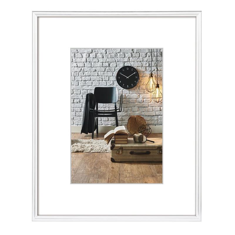 Rama foto Sevilla Hama, 30 x 40 cm, plastic, Alb 2021 shopu.ro