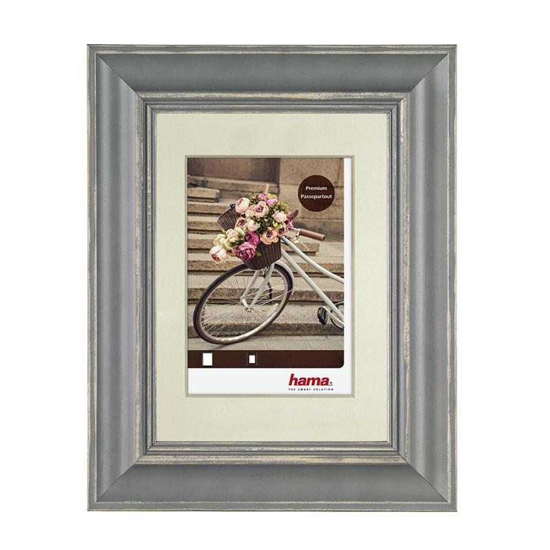 Rama foto Velo Hama, 13 x 18 cm, lemn, Gri 2021 shopu.ro