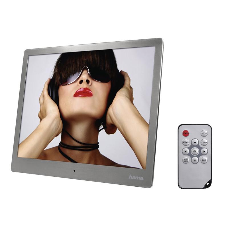 Rama foto digitala Hama, 24.64 cm, otel inoxidabi, Argintiu 2021 shopu.ro