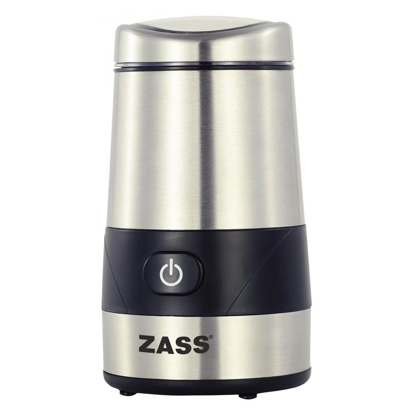 Rasinta cafea Zass ZCG 07, 200 W, 60g, Inox 2021 shopu.ro
