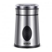 Rasnita cafea Samus Coffino, 200 W, 60 g, carcasa inox, Argintiu