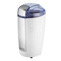 Rasnita de cafea ECG, 200 W, 80 g, functie Impulse, Alb/Argintiu