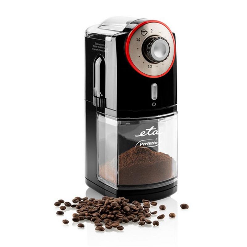 Rasnita de cafea ETA Perfetto, 100 W, 200 g, 17 setari macinare 2021 shopu.ro