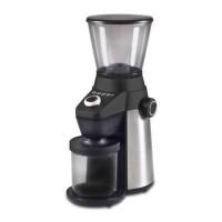 Rasnita electrica pentru cafea Beper, 150 W, 600 ml, 15 nivele macinare, Negru