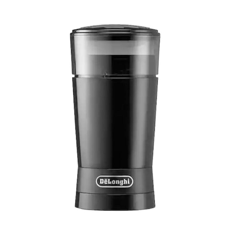 Rasnita pentru cafea DeLonghi, 170 W, 90 g, sistem push, Negru 2021 shopu.ro