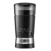 Rasnita pentru cafea DeLonghi, 170 W, 90 g, lame otel inoxidabil, sistem push, Negru