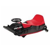 Kart Razor Crazy Cart Shift, acceleratie pe pedala, 12 V, 13 km/h, Negru/Rosu