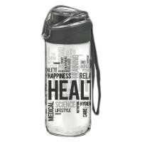 Recipient sticla pentru apa Renga, 500 ml, Negru