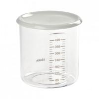 Recipient ermetic Beaba, 420 ml, tritan, Gri