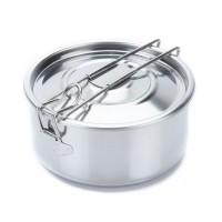 Recipient etans pentru alimente Studio Casa, 14 cm, inox, Argintiu