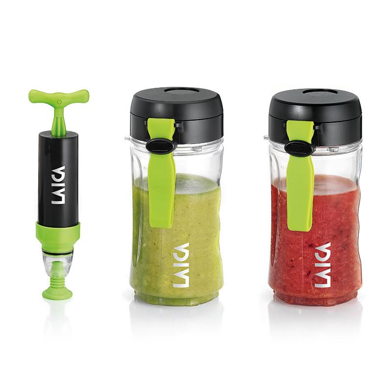 Recipiente pentru smoothie/alimente Laica, 400 l, pompa inclusa 2021 shopu.ro