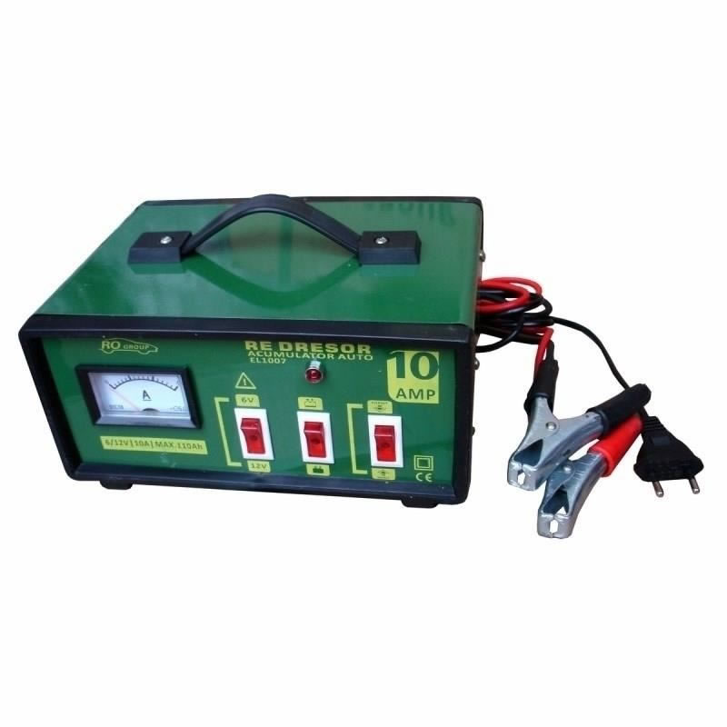 Redresor auto RoGroup, 10A-12V 2021 shopu.ro