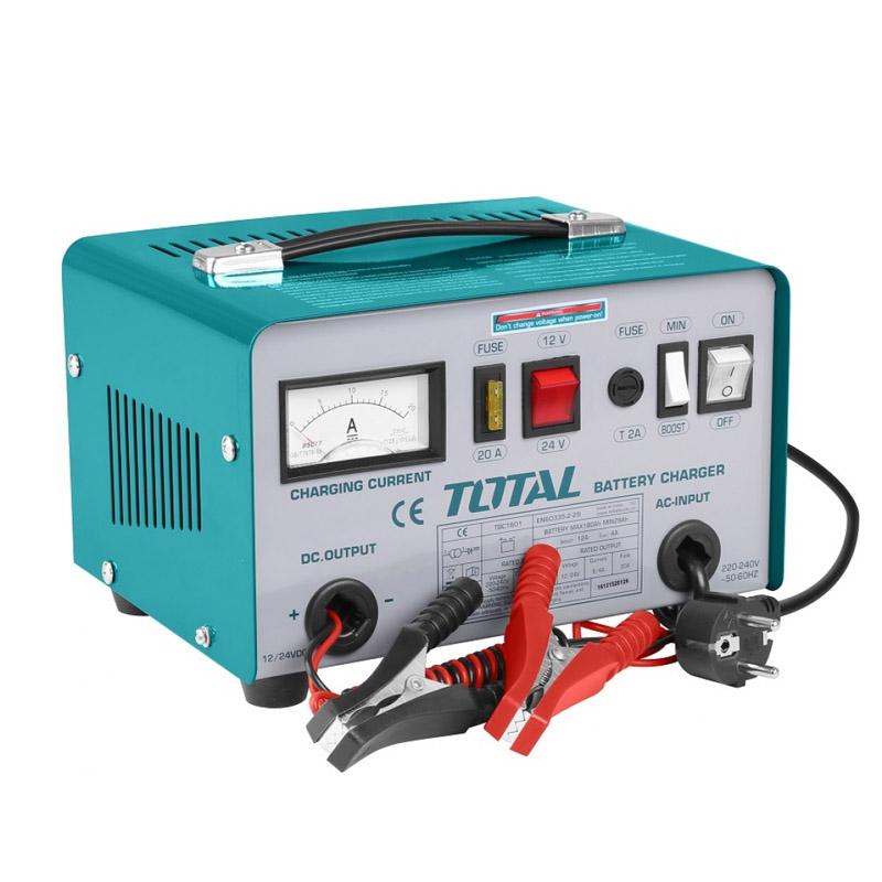 Redresor auto Total, 12/24 V, 180 A, functie boost, clasa izolare H 2021 shopu.ro