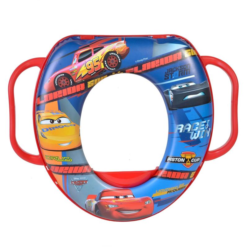 Reductor toaleta pentru copii Cars, 28 x 35 cm 2021 shopu.ro