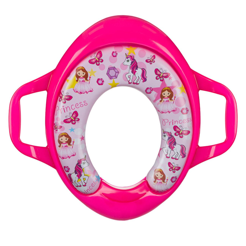 Reductor toaleta pentru copii, 28 x 35 cm, model Princess 2021 shopu.ro