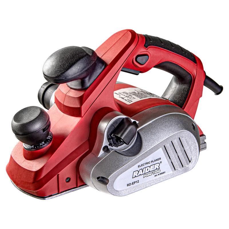 Rindea electrica Raider, 850 W, 16000 rpm, latime rindeluire 82 mm, adancime rindeluire 3 mm shopu.ro