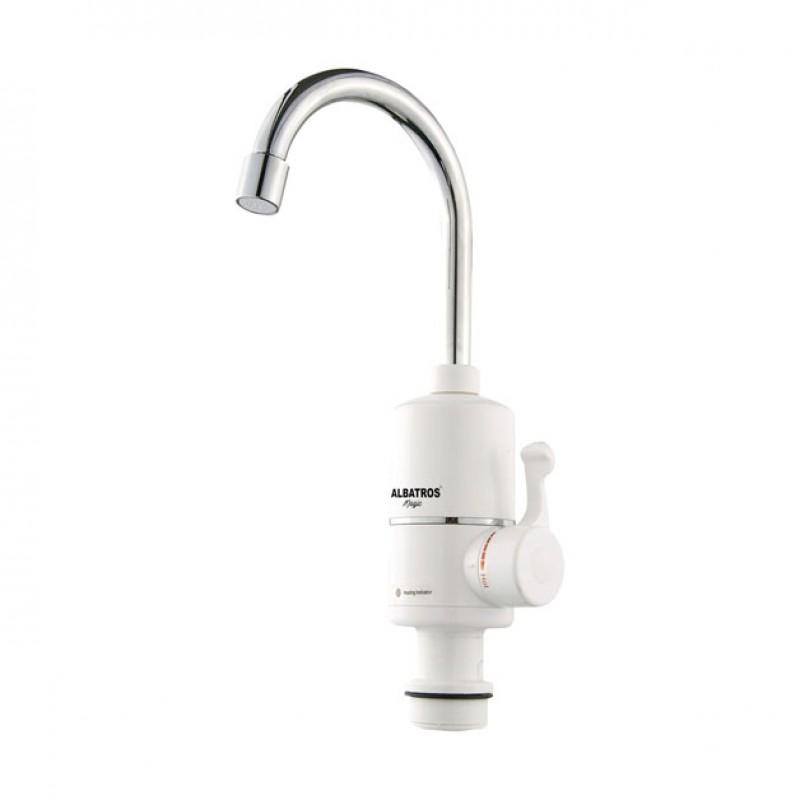 Robinet electric Albatros Magic, 3000 W, reglaj temperatura, intrerupator ELCB shopu.ro