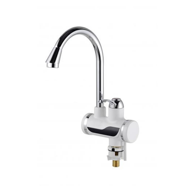 Robinet electric cu incalzire instantanee Well Waterfall, 3000 W, afisaj digital shopu.ro