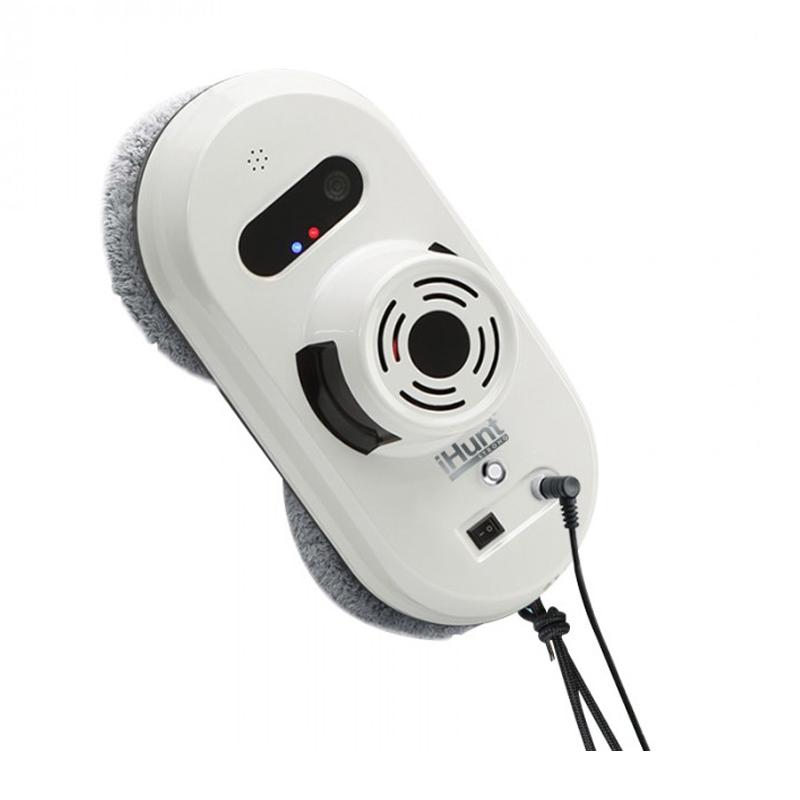 Robot autonom curatare geamuri iHunt Robot Window AutoClean, 2 lavete, telecomanda inclusa 2021 shopu.ro